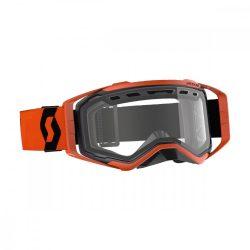 Scott Works Prospect Enduro ACS narancs cross szemüveg, viztiszta lencsével