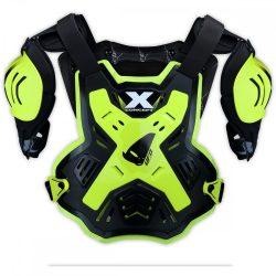 UFO X-Concept páncél/mellvért, fluo-fekete színben
