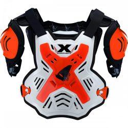 UFO X-Concept páncél/mellvért, fehér-narancs színben