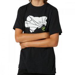 FOX Predator gyerek  póló, fekete