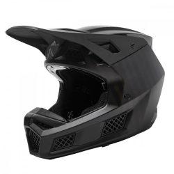 Fox V3  RS BLACK CARBON MIPS MVRS EC  bukósisak, CARBON-BLACK