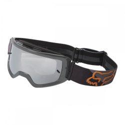 Fox main skew spark  cross szemüveg  fekete-arany  viztiszta lencsével