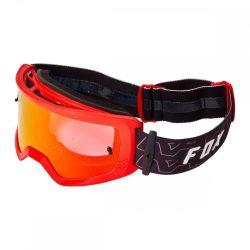 Fox main peril spark  cross szemüveg piros-fekete  viztiszta lencsével