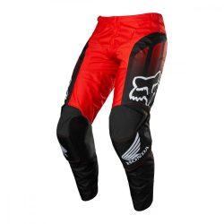 FOX  180 HONDA CROSS nadrág.BLACK- RED