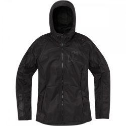 ICON Airform   női textil kabát, fekete