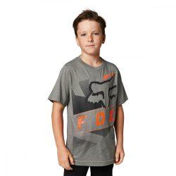FOX Riet  gyerek  póló, fekete