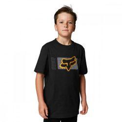 FOX Mirer  gyerek  póló, fekete