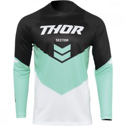 Thor Sector Chevron Menta-fekete crossmez