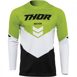 Thor Sector Chevron fekete-zöld crossmez