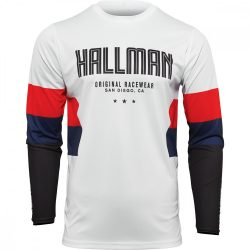 Thor Hallman Differ Draft fehér-kék-piros  crossmez