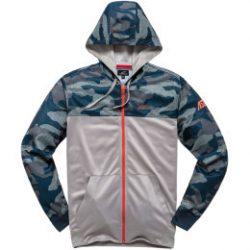 Alpinestars RECKON kapucnis cipzáros pulóver kék