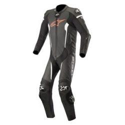 Alpinestars bőrruha 1-TEILER MISSILE TECH AIR COMPATIBLE fekete-piros-fehér