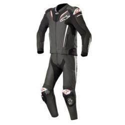 Alpinestars bőrruha 2-TEILER ATEM V3 fekete-fehér