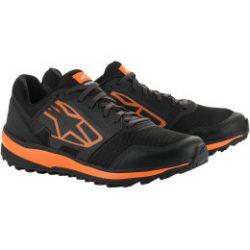 Alpinestars Meta Trail cipő,FEKETE-NARANCS