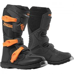 Thor 2019 YOUTH BLITZ XP OFFROAD BOOTS CHARCOAL/ORANGE