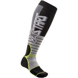 Alpinestars MX Pro zokni,szurke- sárga színben