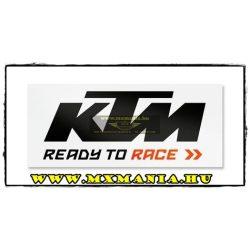 KTM 2017 Busz matrica, Fekete-Fehér színben