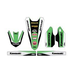 Kawasaki TRIM matrica szett, Factory Effex több féle motorhoz