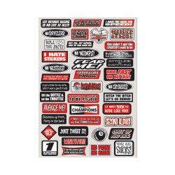 Factory Effex FUN Sponsor  matrica szett