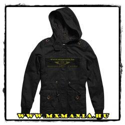Fox Genevieve női kabát, Fekete színben