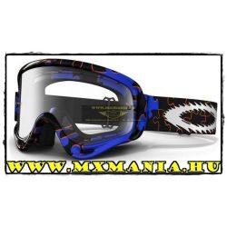 Oakley XS O-Frame MX Puzzled Blue cross szemüveg