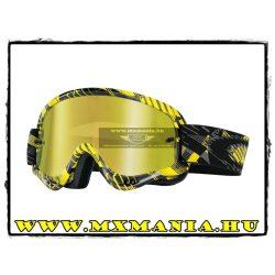 Oakley XS-O Frame MX Digi-Slash Gray-Yellow-Black cross szemüveg