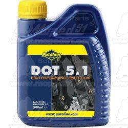 Putoline DOT 5.1 FÉK FOLYADÉK 500ML