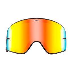 O'neal B50 szemüveg lencse, piros tükrös