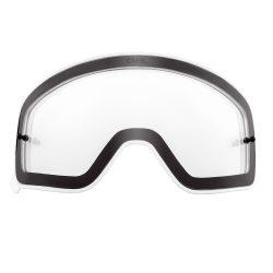 O'neal B50 szemüveg lencse, víztisztay fehér kerettel