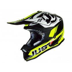 JUST1 J32 Pro Helmet Rave Black/Neon Yellow