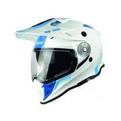 JUST1 J34 Adventure Helmet Shape Gloss Neon Blue