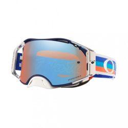 OAKLEY AIRBRAKE BRILLE PRIZM MX TLD PATRIOT cross szemüveg kék tükrős