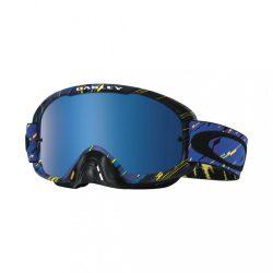 Oakley O2 cross szemüveg, rain of terror, kék iridiumos lencsével