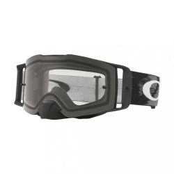 OAKLEY FRONT LINE MX MATTE BLACK SPEED cross szemüveg, VIZTISZTA LENCSE