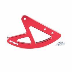 AWORKX Féktárcsa védő, HONDA,piros