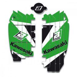 Blackbird Radiátor matrica Kawasaki motorokhoz.