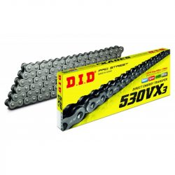 "DID 530VX3 ""X"" gyűrűs lánc, steel"