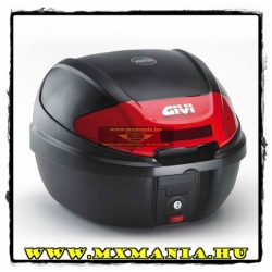 GIVI Topcase E300N doboz, Fekete-Piros