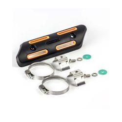 Kipufogó hővédő készlet 25 mm-50 mm átmérőjű (1 ″-2 ″) ,FEKETE