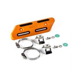 Kipufogó hővédő készlet 25 mm-50 mm átmérőjű (1 ″-2 ″) ,NARANCS