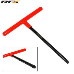 RFX Pro T-kulcs (Black/Orange) gumírozott nyéllel, KTM T45 Torx fejjel