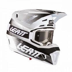 Leatt MOTO 7.5 V21.1 bukósisak, FEHÉR