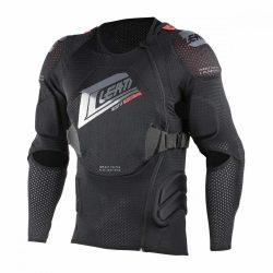 Leatt 3DF AirFit Soft protektor ing, Fekete