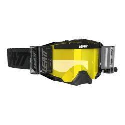 Leatt MX Velocity 6.5 Roll-off szürke szemüveg sárga lencse
