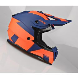 Lazer OR3 Rocky navy-fluo orange cross bukósisak