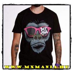 Pitcha Gorilla Premium póló, Fekete színben
