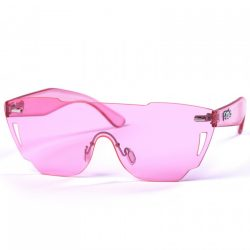 PITCHA GUTCHI WOMENS CLEAR PINK napszemüveg
