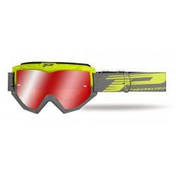 Progrip 3201 Atzaki cross szemüveg, fluo yellow/grey