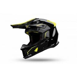 UFO Intrepid Black-neon yellow bukósisak