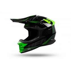 UFO Intrepid Black-neon green bukósisak
